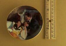 Gone With the Wind Golden Memories SCARLETT AND RHETT'S HONEYMOON Mini Plate #12