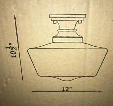 Kenroy Home Cambridge 1-Light Bronze Flush Mount 93660ORB