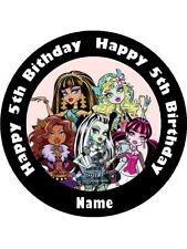 MONSTER HIGH 19CM KOPYKAKE EDIBLE ICING IMAGE CAKE TOPPER #4