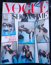 Vogue Italia 1/2010 Karlie Kloss Karen Elson Benjamin Millepied Runway Models