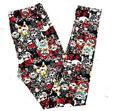 Buttery Soft Monster Zombie Leggings One Size S M L Monster Zombie Apocalypse OS