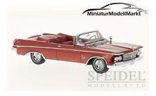 #46845 - Neo Imperial Crown Convertible métallisé-rouge - 1963 - 1:43