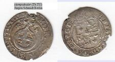 1/24 Taler Dreipölker 1644 Lettland Riga Christina von Schweden Haljak 1417