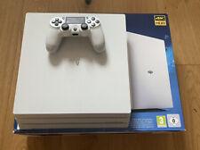 Sony PlayStation 4 Pro Weiß 1TB