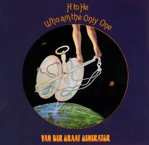 Van Der Graaf Generator H to He Who Am the Only One 2 Extra Tks Remaster CD NEW