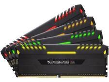 CORSAIR Vengeance RGB DRAM 32GB (4 x 8GB) DDR4 2666 (PC4-21300) C16 - Intel 100/