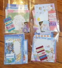 15 pcs Cute Stationary Set for Penpal [washi tape, memo sheet, stickers]