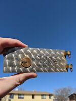 VINTAGE SAFE DEPOSIT BOX DOOR LOCK! OLD  BANK COLLECTIBLE.