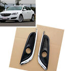 Pair For Buick Regal 2014-2016 Front Bumper Fog Light Lamp Cover without Bulbs