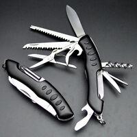 Swiss Army Pocket Knife Folding Multi-Use Tool Camping Survival 13-use Xmas Gift