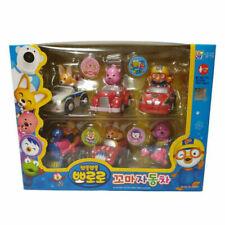 Pororo & Friends Kid Car Set (6pcs) / Korean Animation Character Toys