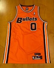 Vintage 2004 Gilbert Arenas Bullets Authentic Jersey wizards wall beal jordan