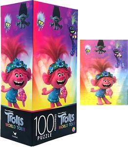 DreamWorks Trolls World Tour New Kids 5+ New Cardinal 100 Pieces Jigsaw Puzzle