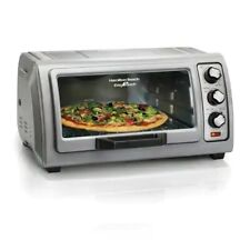 Hamilton Beach Easy Reach 6 Slice Toaster Oven With Roll Top Door