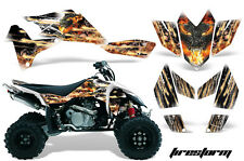 Suzuki LTR 450 AMR Racing Graphic Kit Wrap Quad Decals ATV 2006-2009 FIRESTORM W