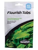 BRAND NEW Seachem Flourish Freshwater Aquarium Plant Tabs Supplement 40 pk