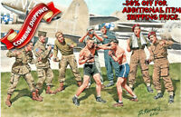 Master Box 35150 WWII Friendly Boxing Match British & American Paratroopers 1/35