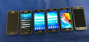 *LOT OF 6 (SAMSUNG GALAXY S4 MINI) PHONES VERIZON/SPRINT| >FOR PARTS OR REPAIR<
