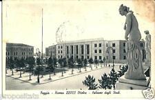 pu 10 1937 - FOGGIA - Piazza XXVIII Ottobre - Palazzo degli Studi - viagg FP -