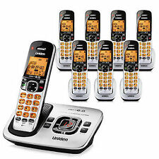 Uniden D1780-8 DECT 6.0 8 Handset Cordless Phone W/ Digital Answering System