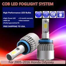 H8 COB 30W 6500K White Fog light Bulb LED Conversion Kit For 05-16 Honda Odyssey