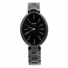Reloj de cuarzo Rado ESENZA toque Dial Negro cerámica señoras R53093152