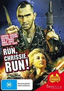 Run Chrissie Run! - Carmen Duncan  - New & Sealed All Region DVD - FREE POST.