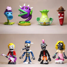 Plants Vs. Zombies Snow Pea Chomper Jalapeno 8 PCS Action Figure Doll Gift Toys