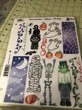 Posh Limited Vertical Inspirations Halloween Stamp Set 18 Stamps