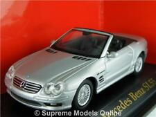 MERCEDES BENZ SL55 MODEL SPORTS CAR 1/43RD SCALE PACKAGED ISSUE BXD K8967Q~#~