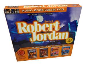 The Wheel of Time Series: Best of Robert Jordan - 10 Audiobook Cassette Tapes