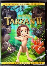 Authentic Walt Disney Tarzan II DVD Movie The Legend Begins BRAND NEW