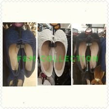 Primark Ladies Ballerina Ballet Pumps Womens Flat Loafer White Blue Black colour