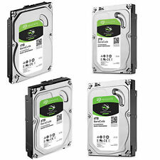 "HDD HARD DISK INTERNO SEAGATE BARRACUDA 3,5"" SATA3 1-2-3-4-6-8 TB 5400 7200 RPM"