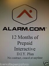 2gig Home Alarm DIY Monitoring No Contract 1 year prepaid with FREE 3G GSM & APP