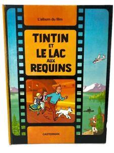 Tintin et le Lac aux Requins L'album du Film Hergé French 1972 Hardcover