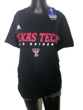 Men's Adidas Texas Tech Red Raiders Sideline Graphic Tee Shirt Dri Fit New