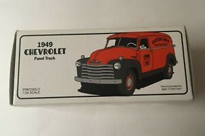 First Gear 1949 Chevrolet Panel Truck Phillips 66 Pipe Line Co 1/34 New in Box