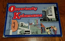 1979 OPPORTUNITY KALAMAZOO Board Game AMERI-GAME Forms RULES Cards Dice
