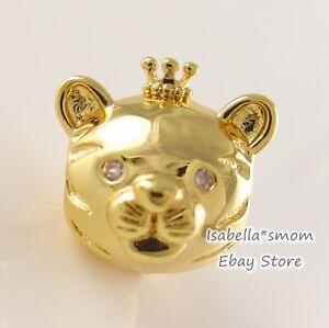 Chinese SHINING TIGER Genuine PANDORA SHINE 18K GOLD Plated Charm 768594C01 NEW