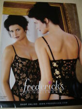 Frederick's of Hollywood 1999 Autumn Enticements Lingerie bikini women swimwear
