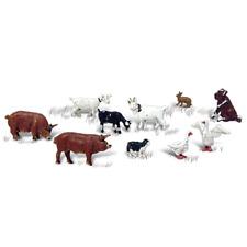 More details for woodland scenics a2202 n gauge barnyard/farm animals