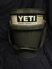 Authentic! Yeti LoadOut 5 gallon Bucket (Tan, Charcoal) New!