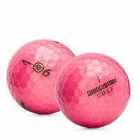 24 Bridgestone e6 Pink AAAAA Used Golf Balls