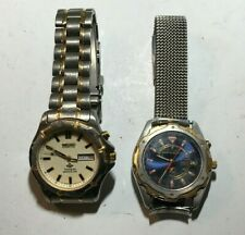 2-Men Seiko Watches, ( Kinetic Titanium Sports 100) & (Kinetic 72 Hour) Quartz