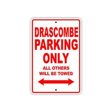 Drascombe Parking Only Boat Ship yacth Marina Lake Dock Aluminum Metal Sign