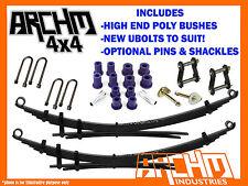 FORD RANGER PJ/PK RAISED ARCHM4X4 2 INCH LEAF SPRINGS / BUSHES & UBOLTS