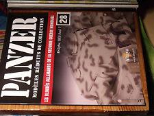 10µµ Fascicule PANZER n°28 Pz.Kpfw 38 1.Pz Div LSSAH / Panzer Italie