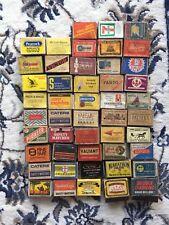Vintage Empty Safety Matchboxes / Matchbooks Job Lot Over 150 FREE SHIPPING