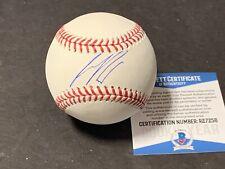 Seth Beer Arizona Diamondbacks Autographed Signed Baseball Beckett COA Imperfect